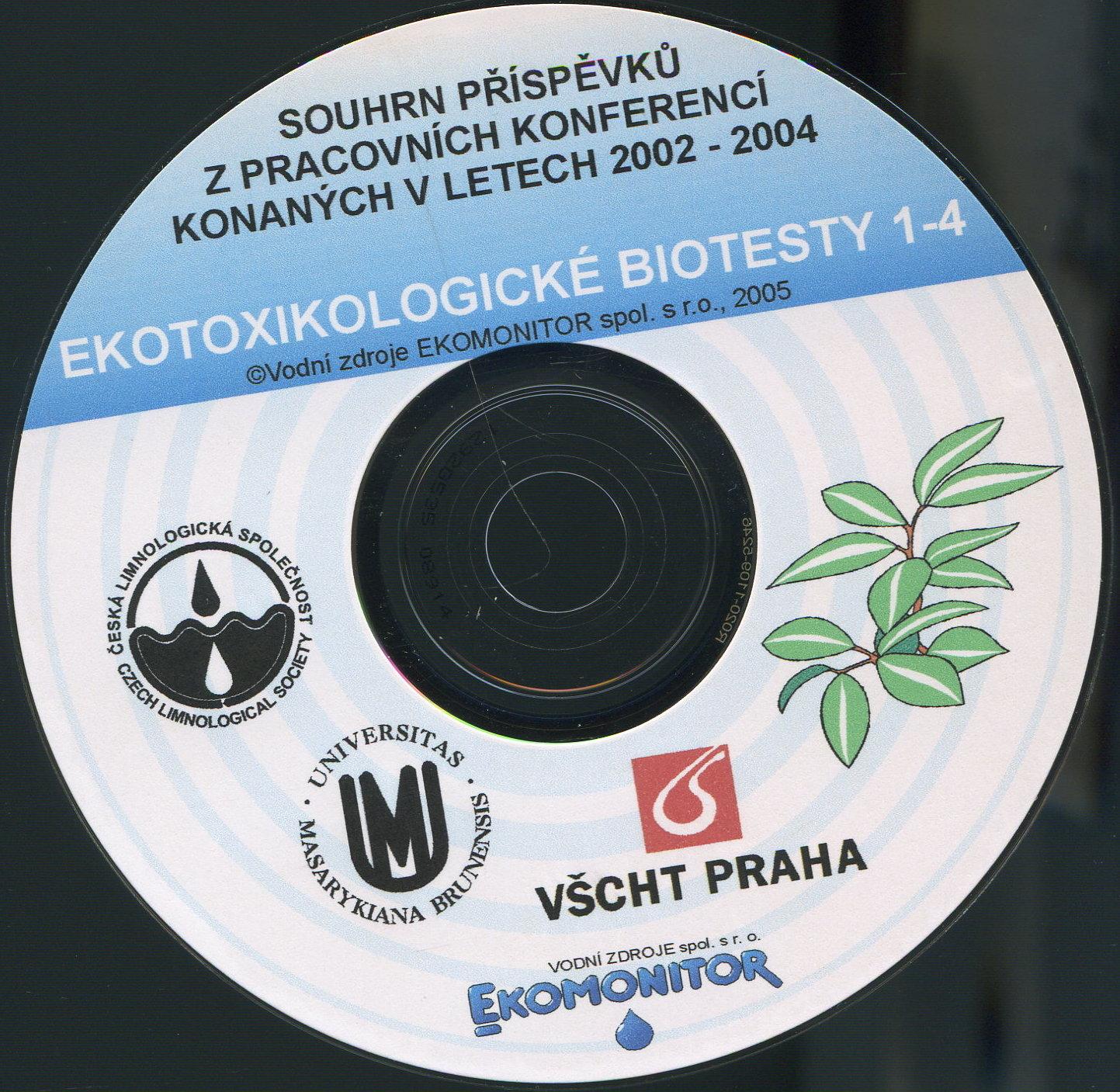 Ekotoxikologické biotesty 1-4