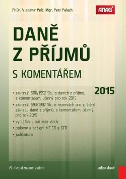 Daně z příjmů s komentářem 2015