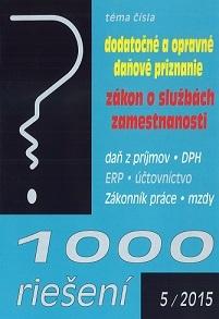 1000 riešení 5/2015