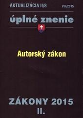 Aktualizácia II/8 - Úplné znenie / Zákony 2015/II.