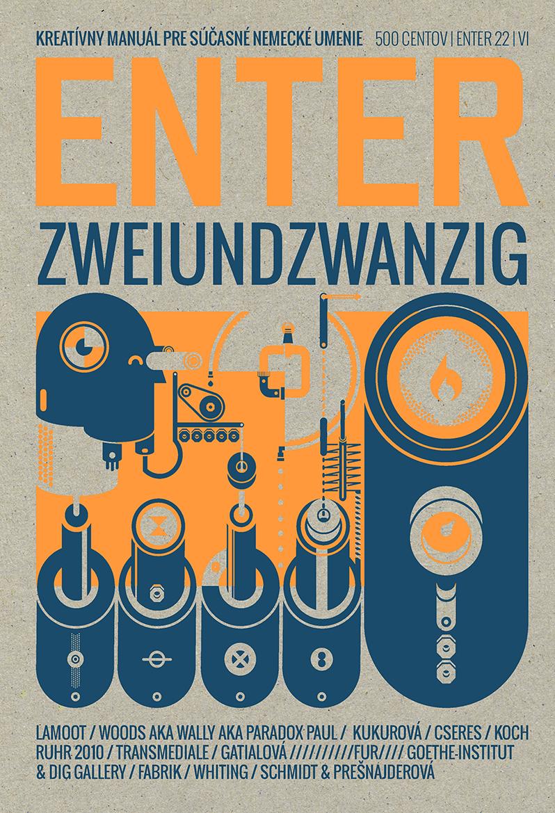 ENTER No. 22 - Kreatívny manuál pre súčasné nemecké umenie