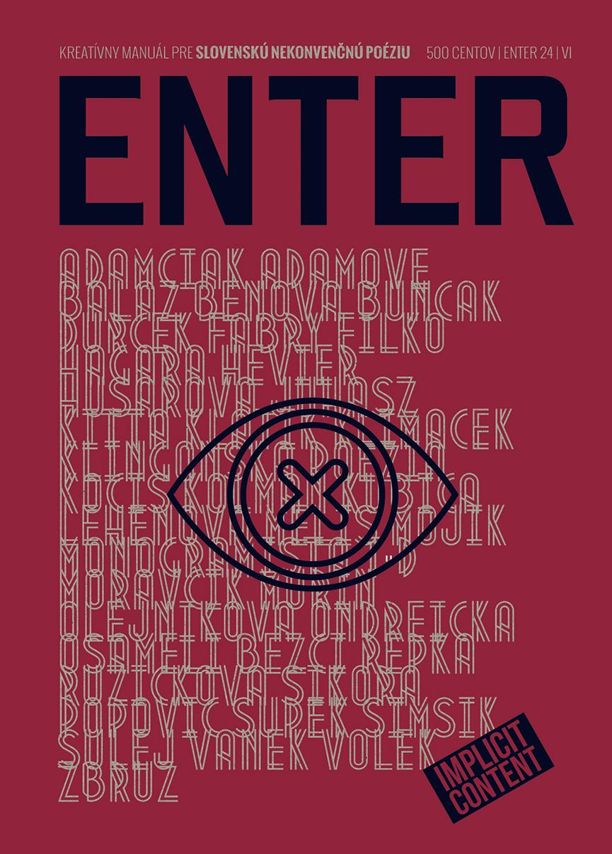 ENTER No. 24 - Kreatívny manuál pre slovenskú nekonvenčnú poéziu