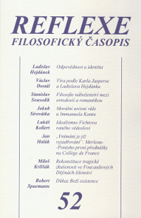 Reflexe 52 - Filosofický časopis