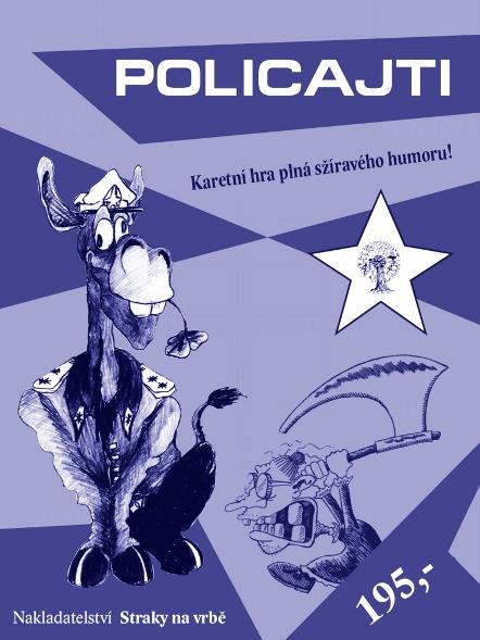 Policajti - Karetní hra plná sžíravého humoru!