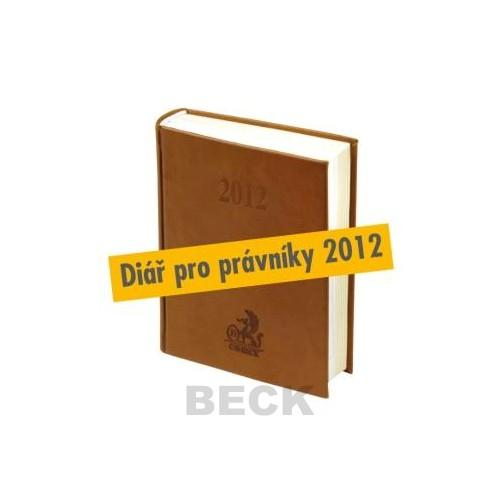 Diář pro právníky 2012
