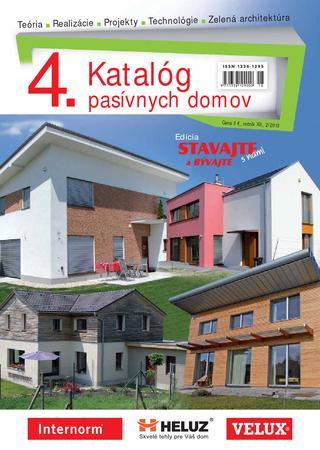 4. Katalóg pasívnych domov - Ročník XII., 2/2013