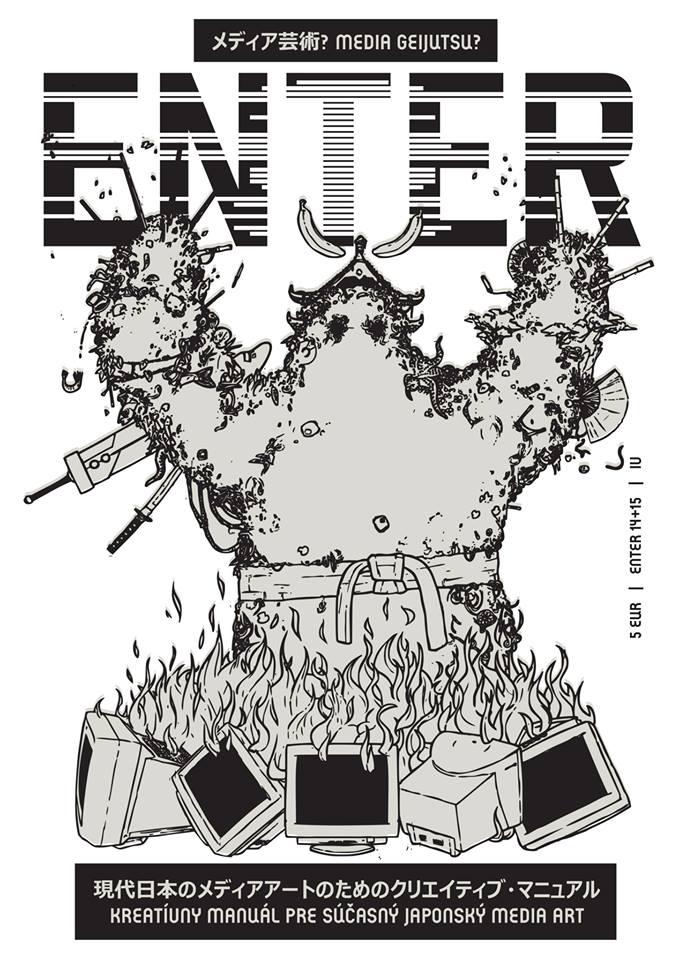 Enter No. 14+15 - Kreatívny manuál pre súčasný japonský media art