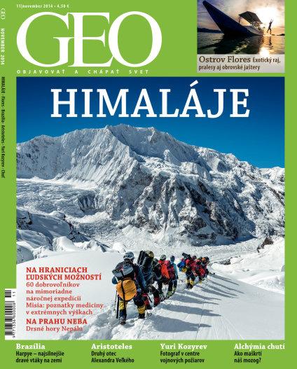 Geo 11/2014 - Objavovať a chápať svet