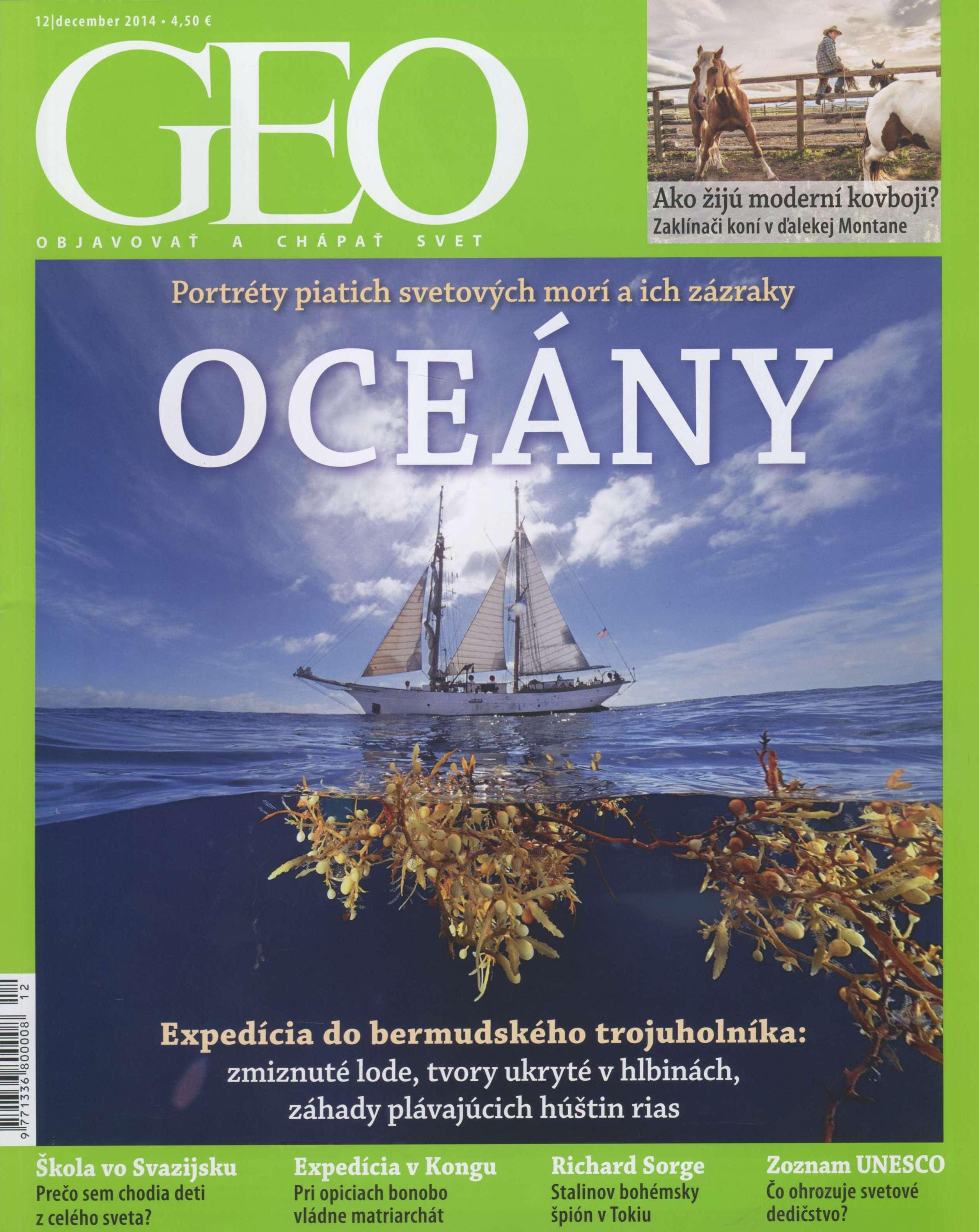 Geo 12/2014 - Objavovať a chápať svet