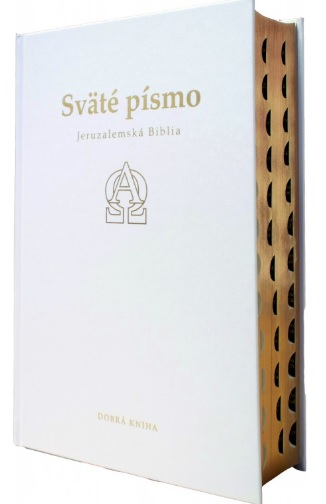 Sväté písmo - Jeruzalemská Biblia (darčeková - delux biela) 9.vydanie - Deviate revidované a opravené vydanie