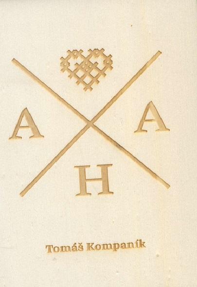 AHA - limitovaná drevená edícia