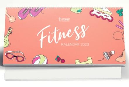 Fitness kalendár 2020 - limitovaná edícia