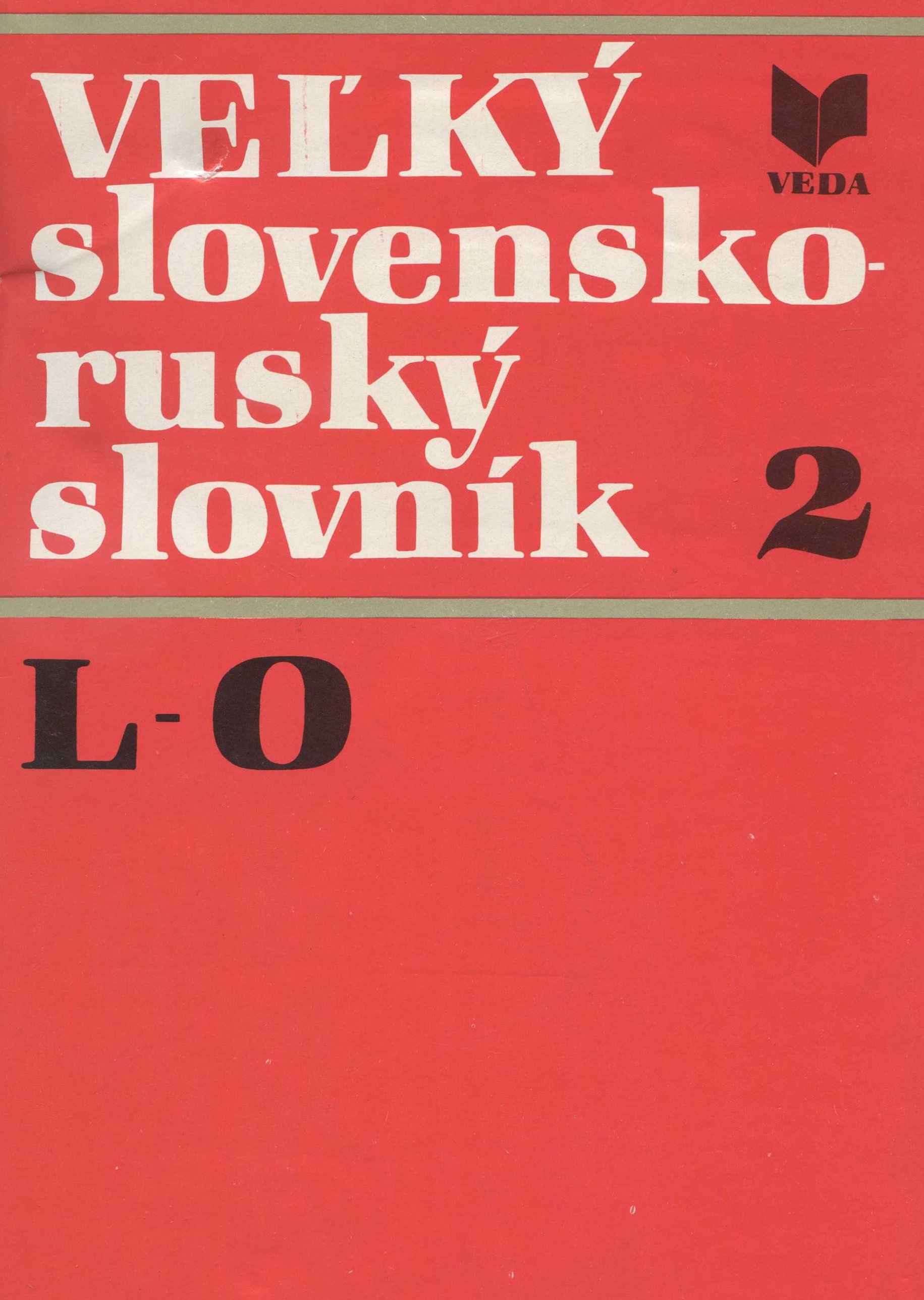 Veľký slovensko-ruský slovník 2 - L-O