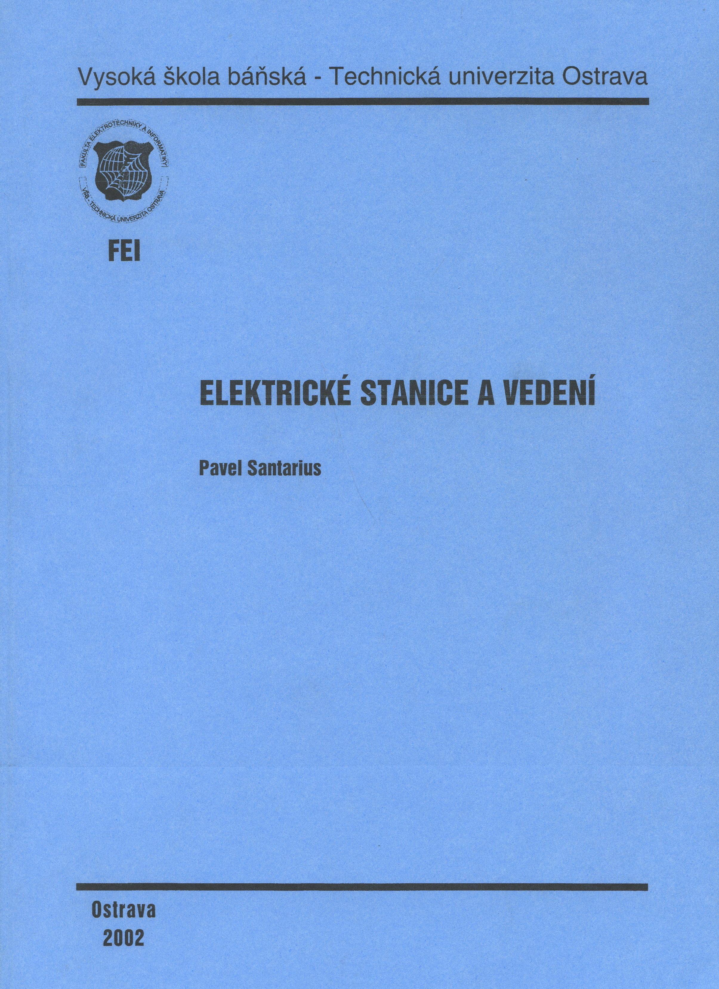 Elektrické stanice a vedení