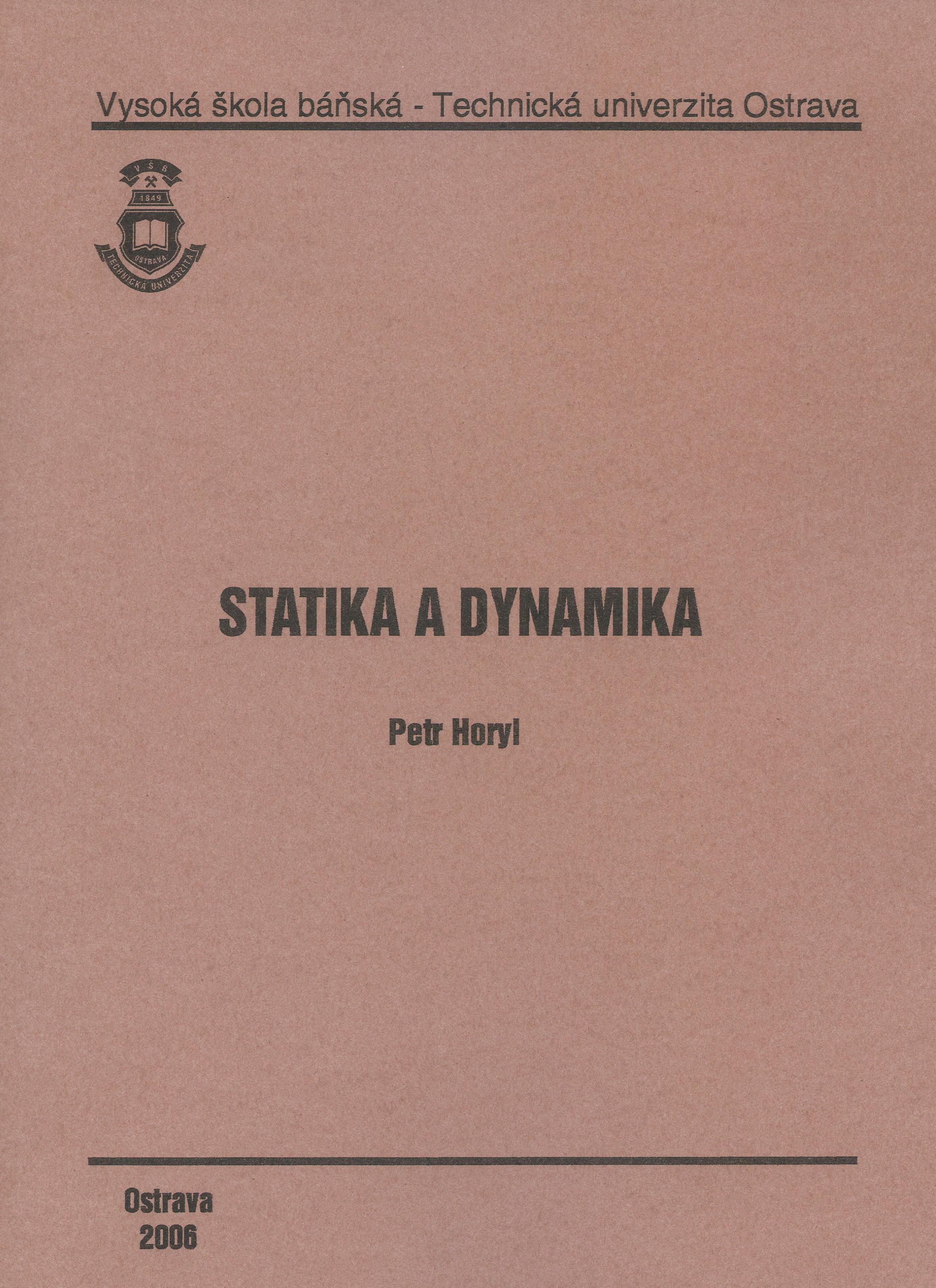 Statika a Dynamika