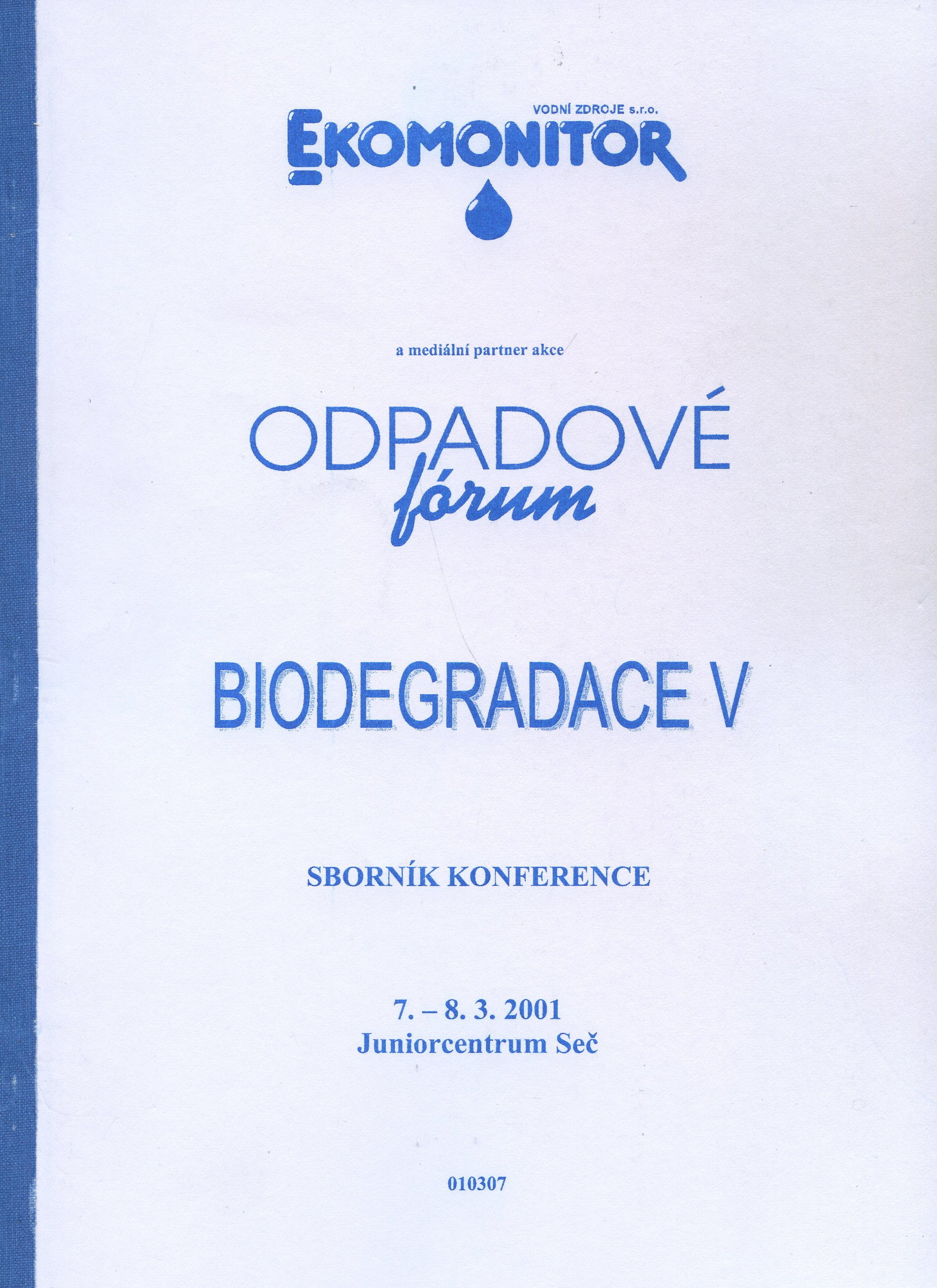 Biodegradace V