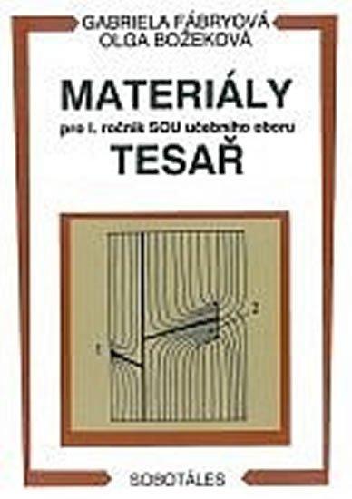 Materiály pro I. ročník SOU učebního oboru tesař