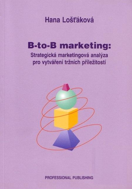 B to B marketing - Strategická marketingová analýza pro vytváření tržních příležitostí