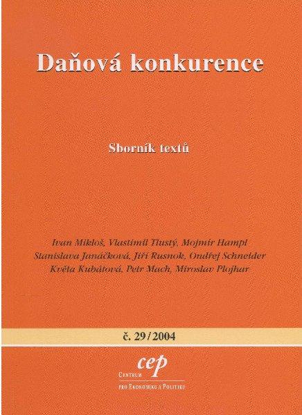 Daňová konkurence - Sborník textů