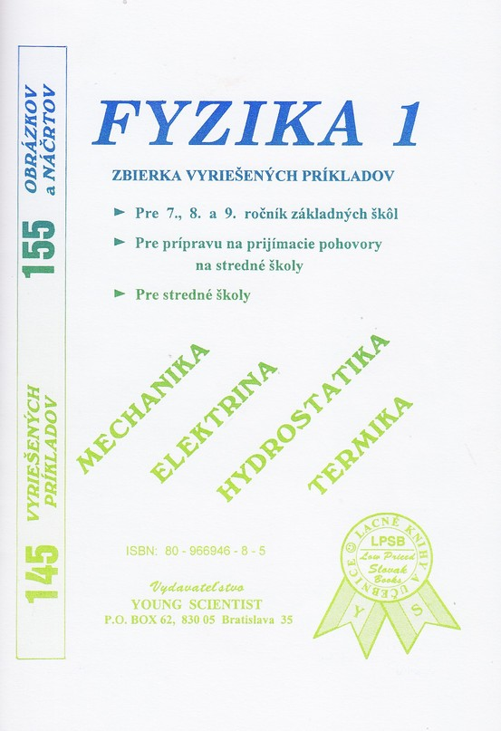 Fyzika 1 - Zbierka vyriešených príkladov