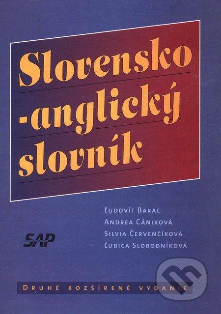 Slovensko-anglický slovník - Druhé rozšírené vydanie