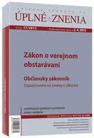 UZZ 17/2012 Zákon o verejnom obstarávaní
