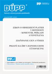 DUPP 14/2013 Zákon o obmedzení platieb v hotovosti