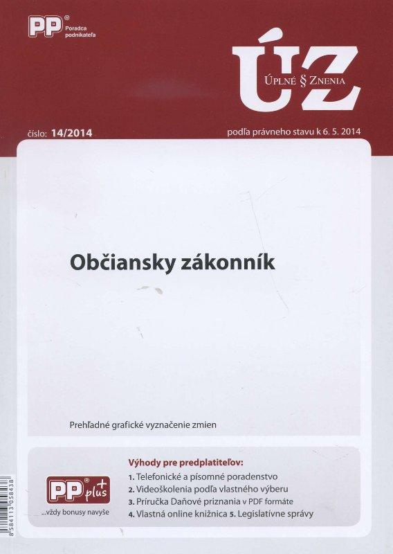 UZZ 14/2014 Občianský zákonník