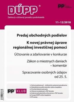 DUPP 11-12/2018 - Predaj obchodných podielov