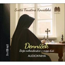 Denníček (audiokniha) - 3CD-ROM - Božie milosrdenstvo v mojej duši