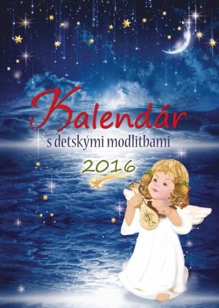Kalendár s detskými modlitbami 2016 nástenný