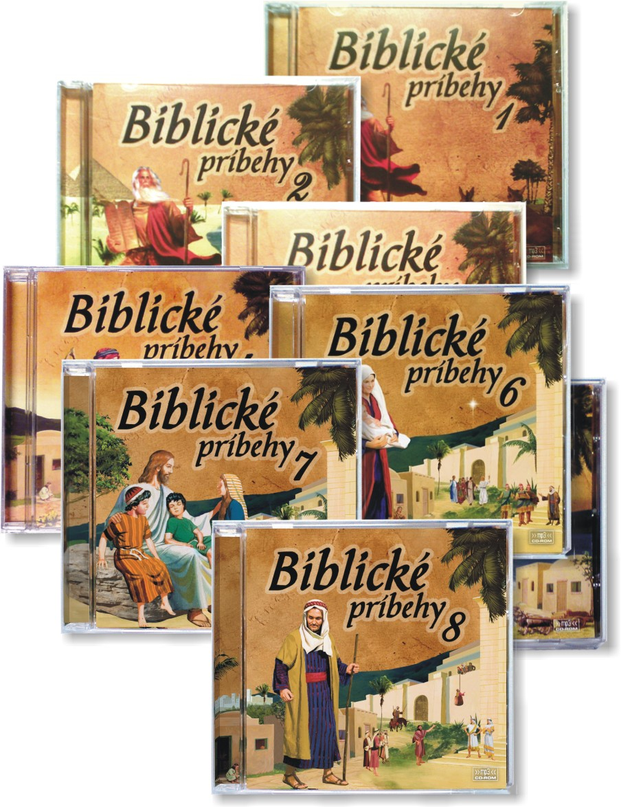 Biblické príbehy - Komplet (8xCD-ROM)