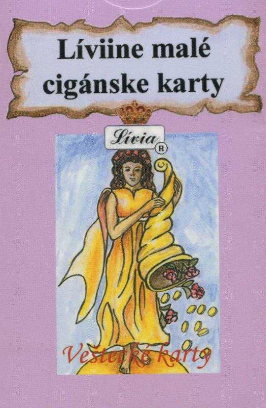 Líviine malé cigánske karty - Veštecké karty