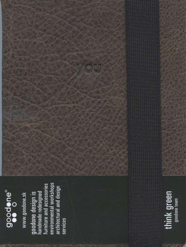 Notebook A6 kožený