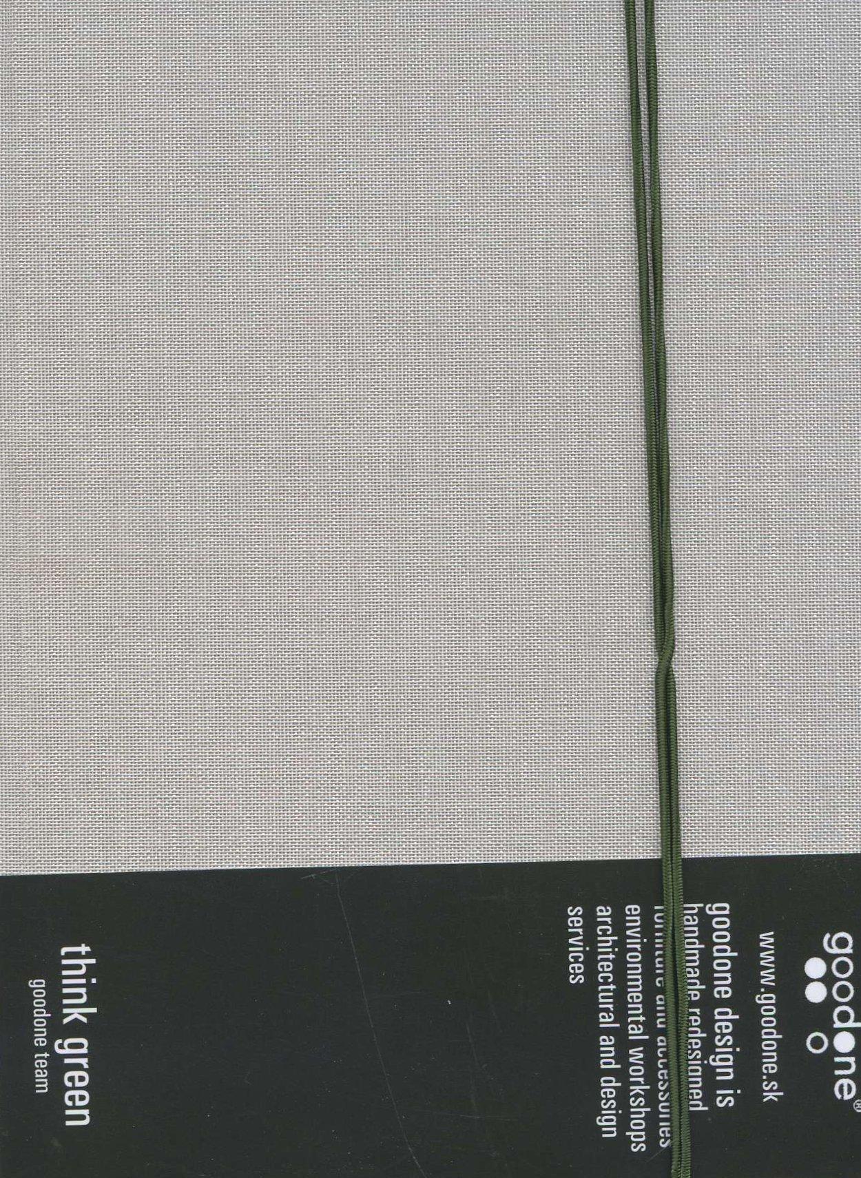 Notebook A6 textilný