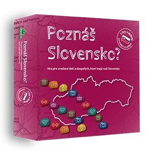 Poznáš Slovensko? - Hra pre zvedavé deti a dospelých, ktorí majú radi Slovensko