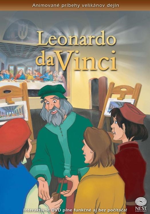 Leonardo daVinci - Animované príbehy velikánov dejín 5