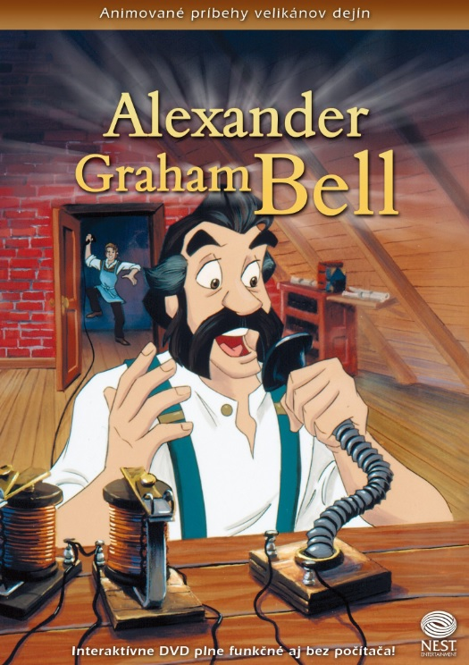 Alexander Graham Bell - Animované príbehy velikánov dejín 17
