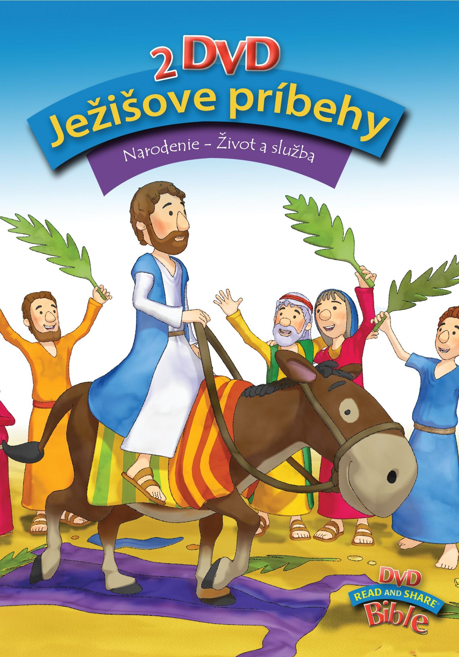 Ježišove príbehy (2x DVD) - Narodenie - Život a služba