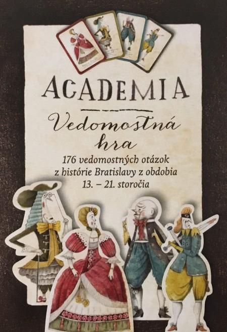 Academia - vedomostná hra (176 kartičiek) - Doplnková sada otázok k hre Bratislava