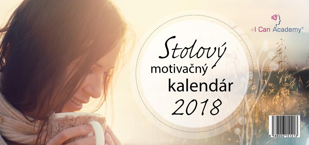 Stolový motivačný kalendár 2018