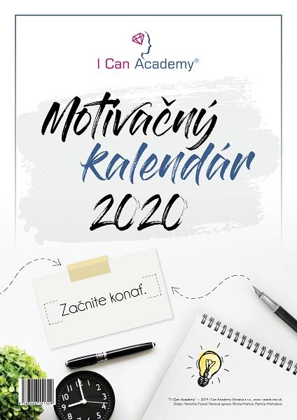ICan Academy Motivačný kalendár 2020 - Začnite konať