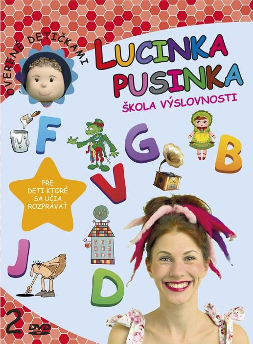 Lucinka Pusinka 2 - Škola výslovnosti - pre deti, ktoré sa učia rozprávať