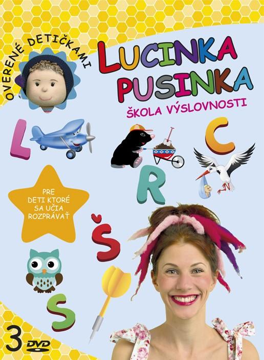 Lucinka Pusinka 3 - Škola výslovnosti - pre deti, ktoré sa učia rozprávať