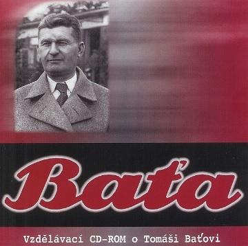 Baťa - česká verzia - Vzdělávací CD-ROM o Tomáši Baťovi