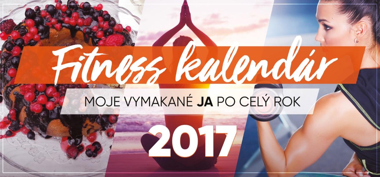 Fitness kalendár 2017 - Moje vymakané JA po celý rok (Limitovaná edícia)
