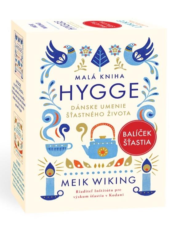 Balíček šťastia: Malá kniha hygge + Malá kniha lykke - Dánske umenie šťastného života / Dánska túžba po šťastnom živote