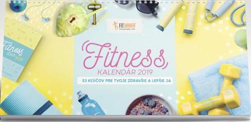 Fitness kalendár 2019 (limitovaná edícia)