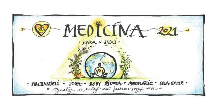 Medicína Slnka v Srdci - Stolový kalendár 2021