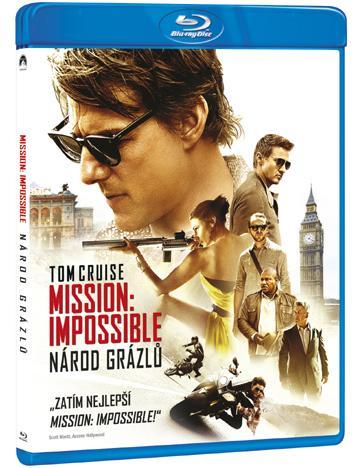 Mission: Impossible - Národ grázlů (Blu-ray)